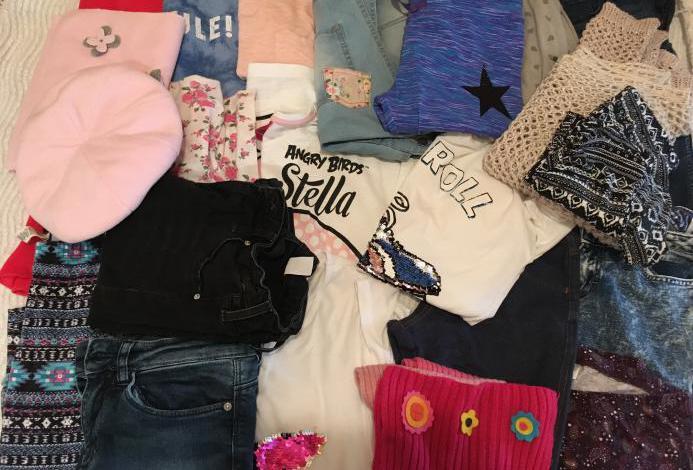 Lote ropa niña talla 10-12 años