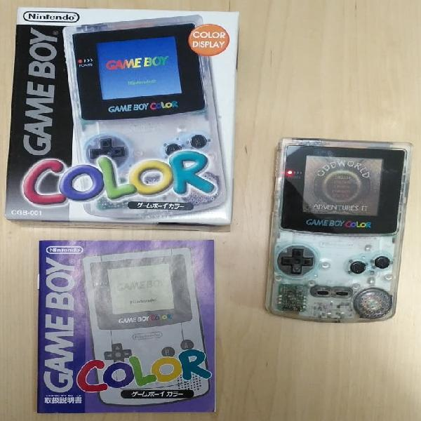 Nintendo gameboy color - nipon edition