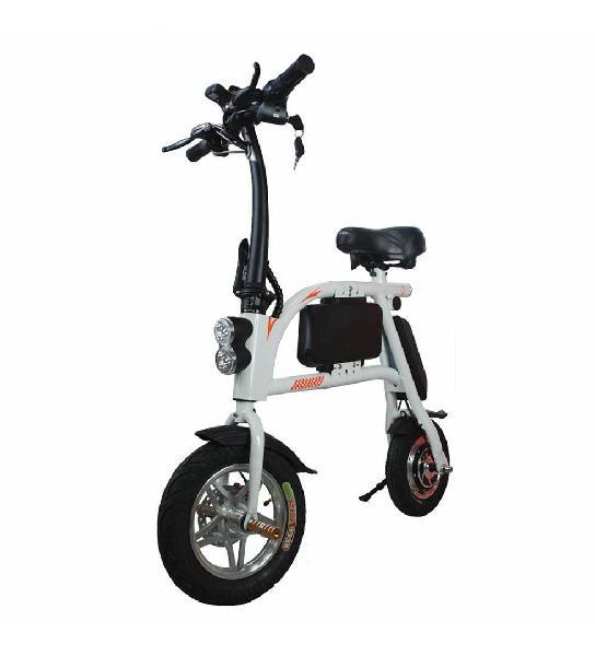Patinete eléctrico e-bike s1 400w blanca o negra