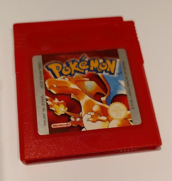 Pokémon rojo - gb