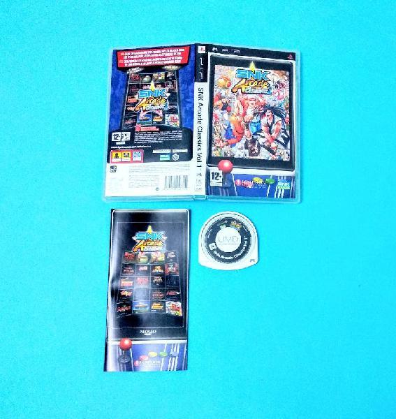SNK Arcade Classics Vol. 1 / PSP