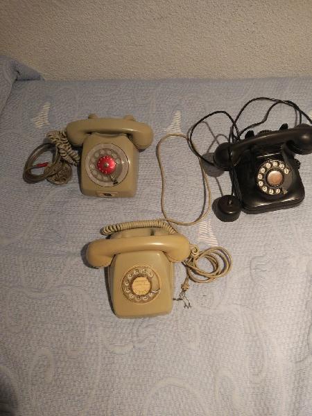 Teléfonos antiguos (vintage)