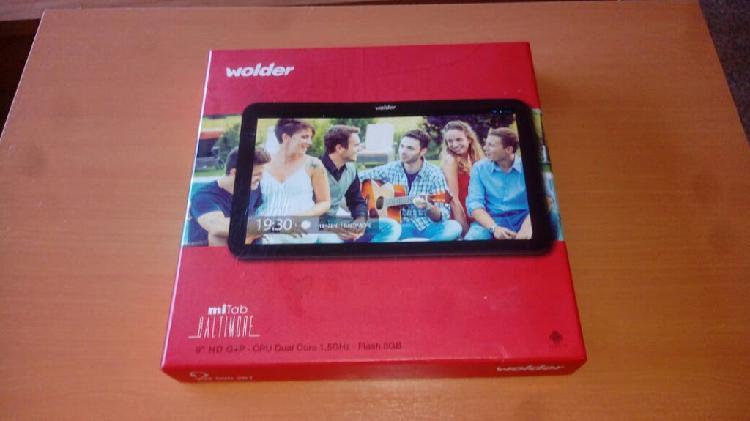 Tablet wolder 9'' dual core 1,5ghz