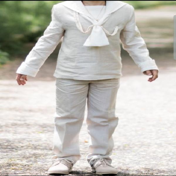 Traje comunión niño y zapatos