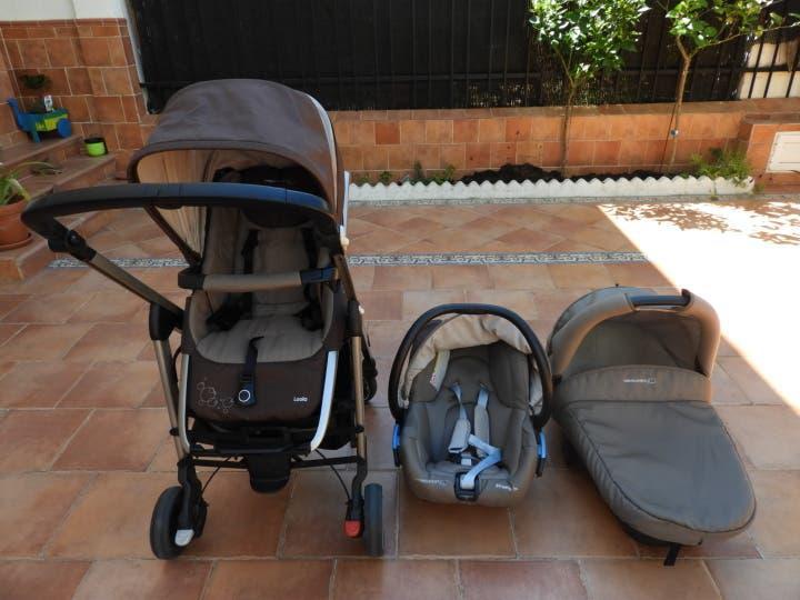 Trío sillas para bebé