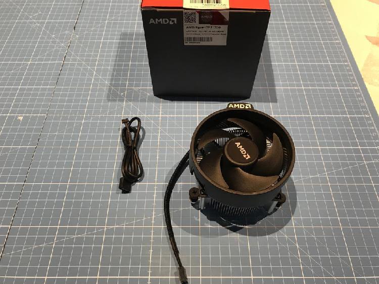 Ventilador con disipador de amd ryzen 1700