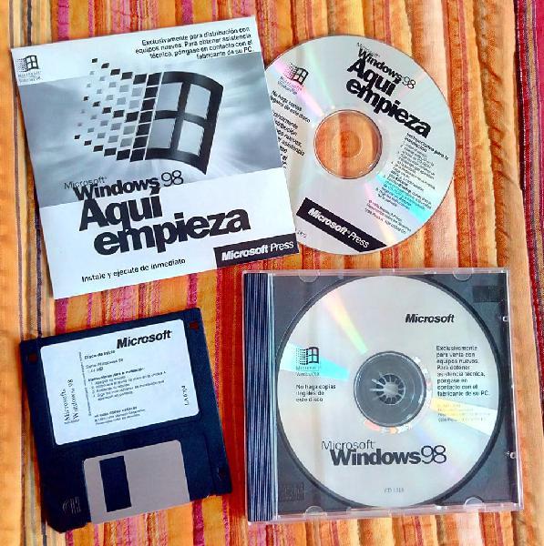 Windows 98 precintado