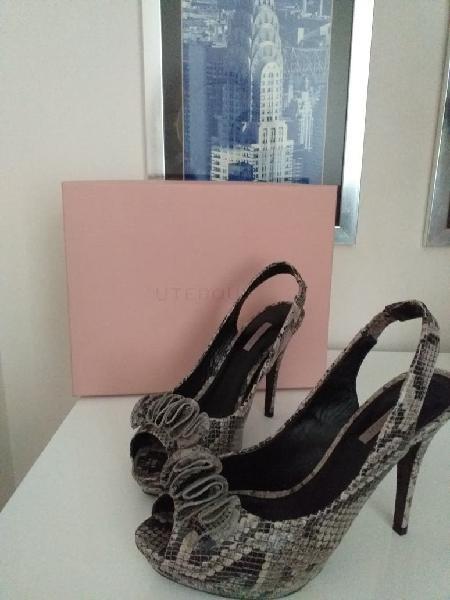 Zapatos de piel número 39 de uterqüe