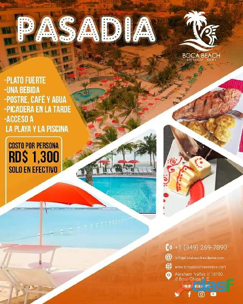 Boca beach residence hotel pasa dia