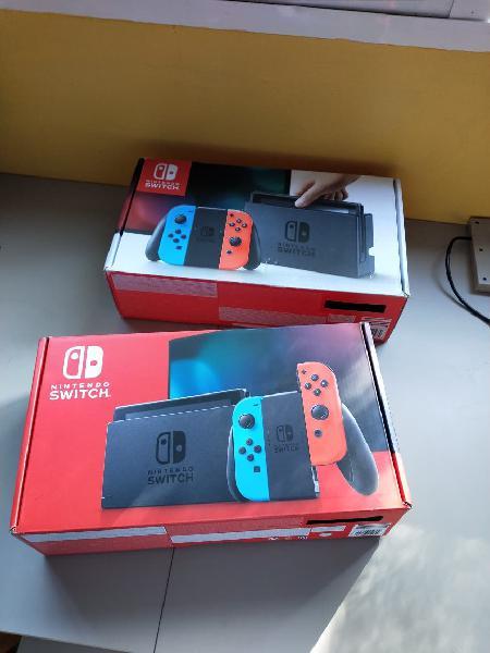 Cajas nintendo switch