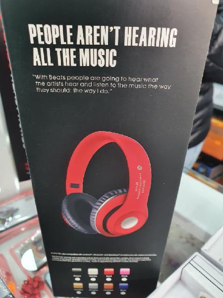 Cascos stereo headphone (nuevos)