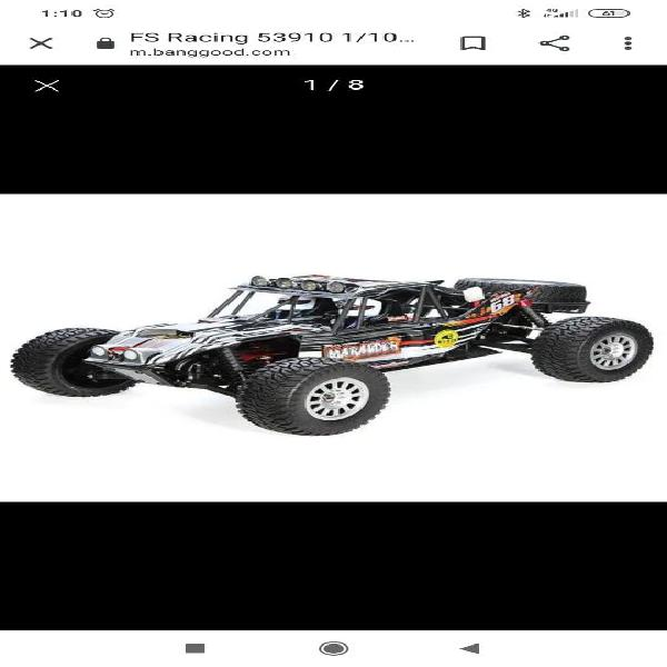 Coche rc byggy brushless con lipos