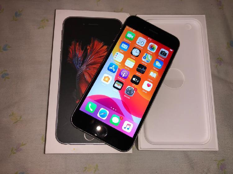 Iphone 6s 16gb libre gris espacial impecable