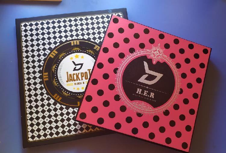 Lot 2 albums edicion limitada block b blockb kpop