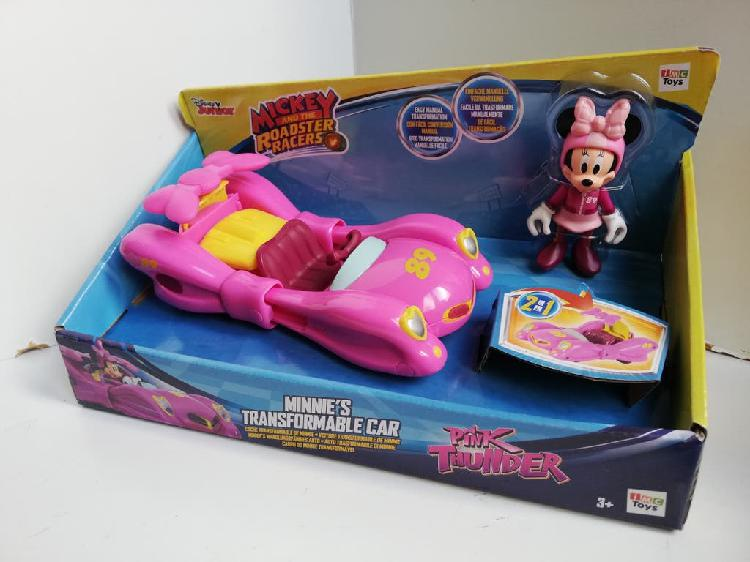 Minnie con coche transformable