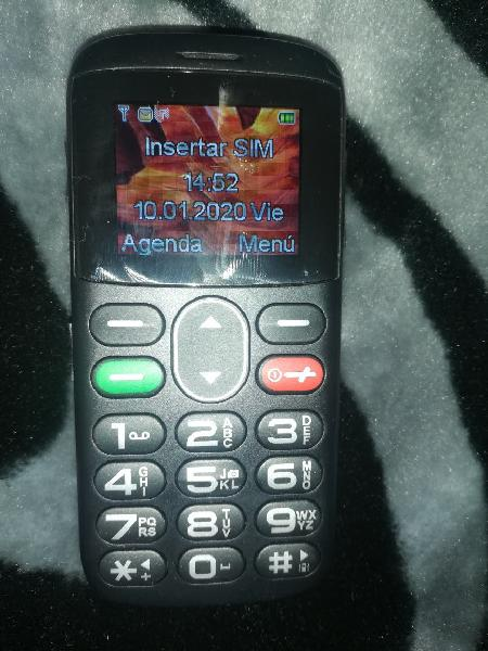 Teléfono orange gama 203 negro