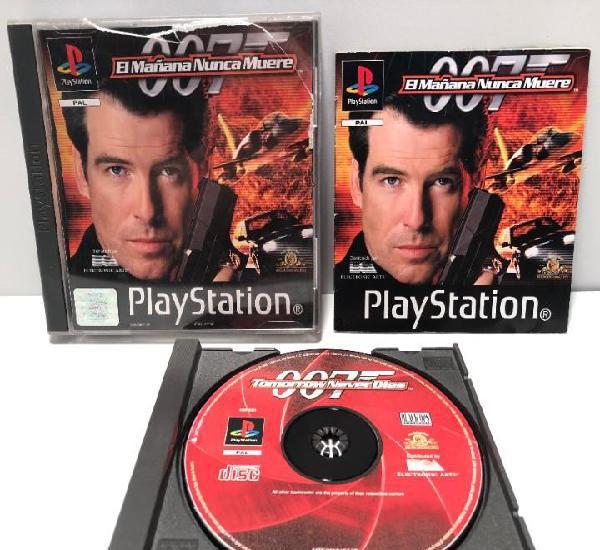 007 el mañana nunca muere playstation psx ps1 psone