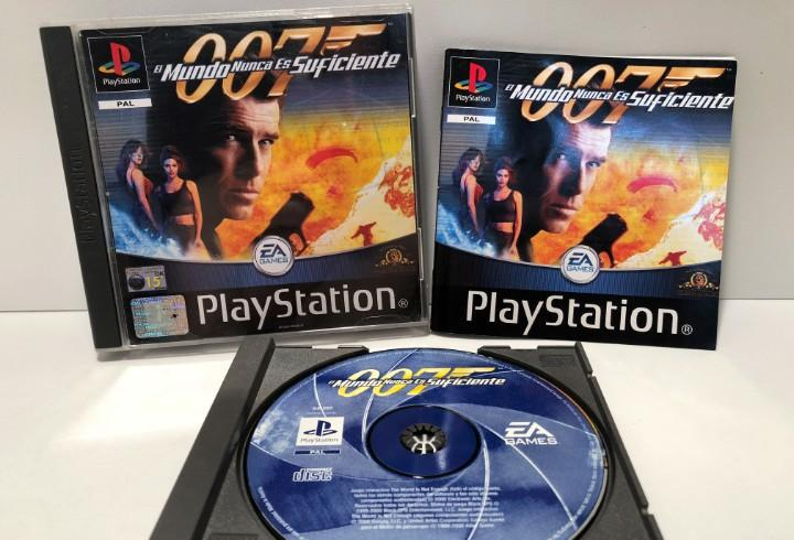 007 el mundo nunca es suficiente playstation psx ps1 psone