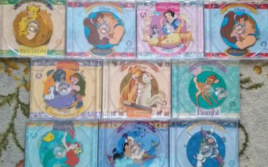 10 cds mis canciones favoritas de disney