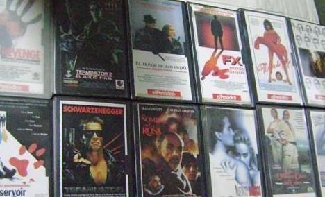 12 cintas de video