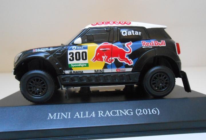 300 coche mini all4 racing 1/43 2016 rally dakar al-attiyah
