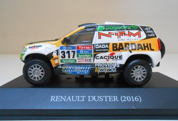 317 coche 1/43 renault duster 2016 rally dakar spataro