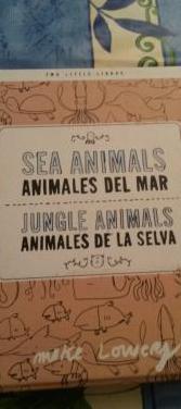 Animales del mar y de la selva bilingual readers