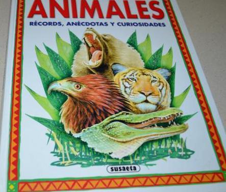 Animales. records anecdotas curiosas