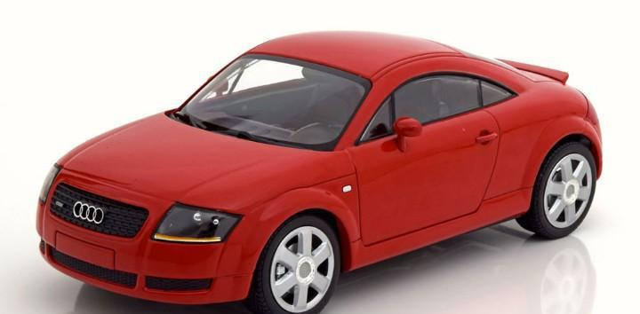 Audi tt coupe 1998 escala 1/18 de minichamps