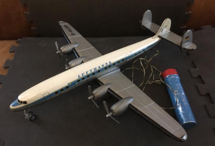 Avión de lata super constellation, tipco, tip&co