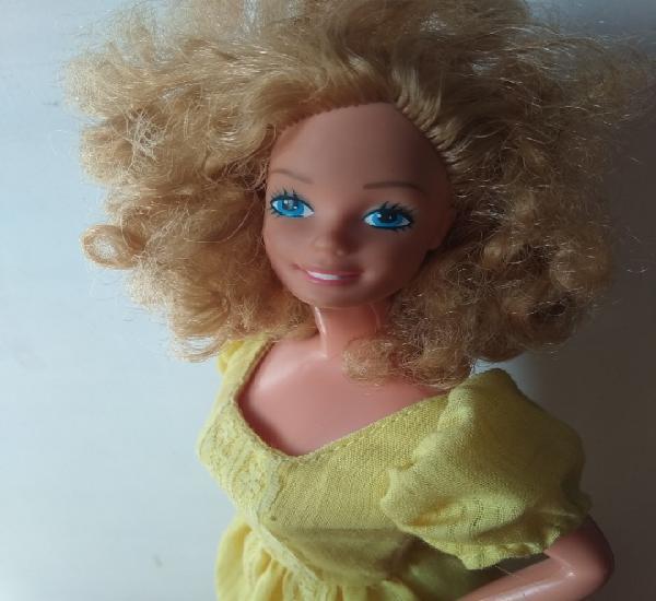 Barbie magic curl años 80 superstar vintage mattel