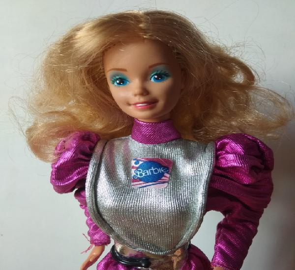 Barbie astronauta años 80 superstar vintage mattel