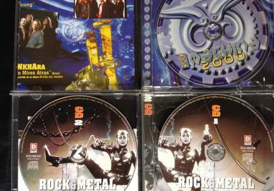 Cds recopilatorio música rock