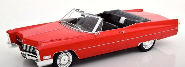 Cadillac deville convertible 1967 escala 1/18 de kk-scale