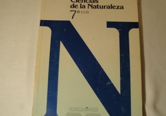 Ciencias naturaleza 7º egb.luis vives