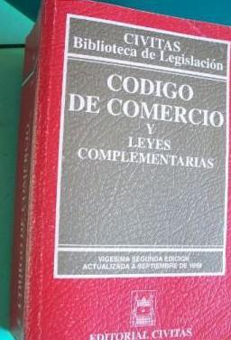 Codigo de comercio y leyes complementarias