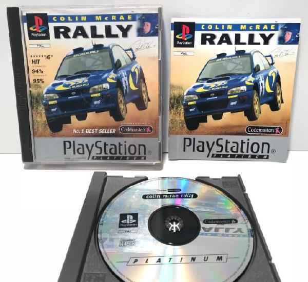 Colin mcrae rally playstation psx ps1 psone