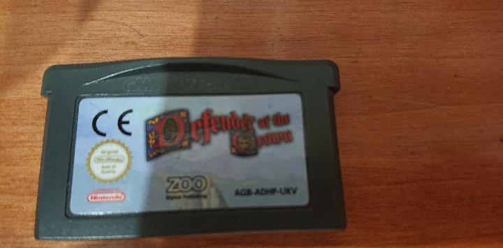 Defender of the crown game boy advance