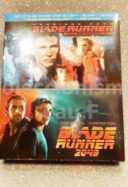 Edicion bluray blade runner y blade runner 2049