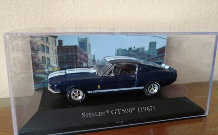 Ford mustang shelby gt500 1:43 american cars altaya