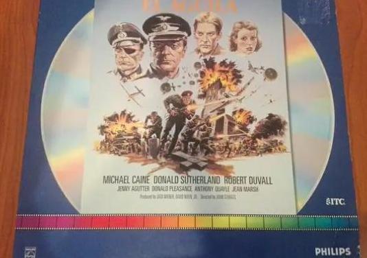 Ha llegado el águila (1976). laserdisc