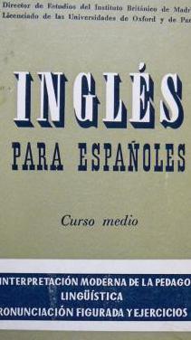 Inglés para españoles. curso medio