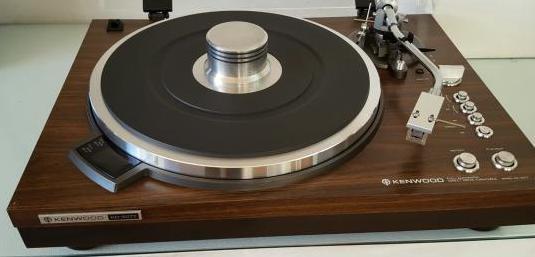 Kenwood kd-5077 tocadiscos vintage
