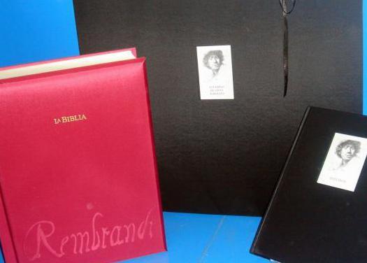 La biblia de rembrandt ejemplar n887 -2008 planeta