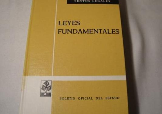 Leyes fundamentales. boe.agosto 1973