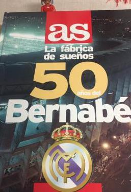 Libro 50 años del bernabéu