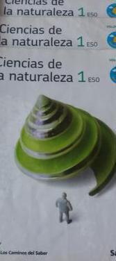 Libro ciencias naturales 1º eso santillana