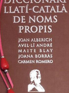Libro. diccionari llatí-català