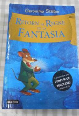 Libro geronimo stilton - retorn al regne fantasia