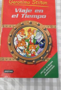 Libro geronimo stilton - viaje en el tiempo